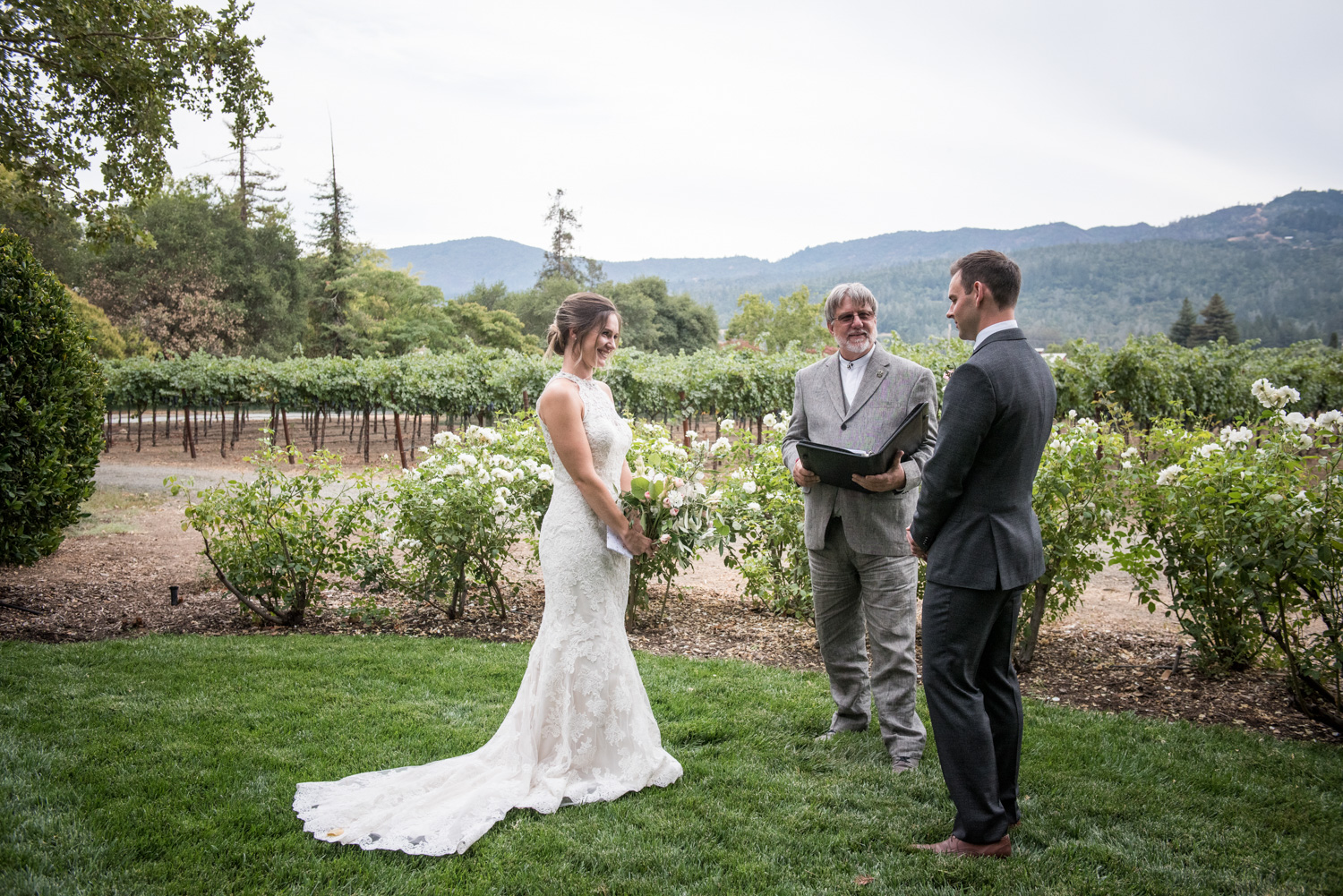 napa wine country elopement
