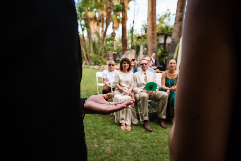 intimate ceremony Palm Springs