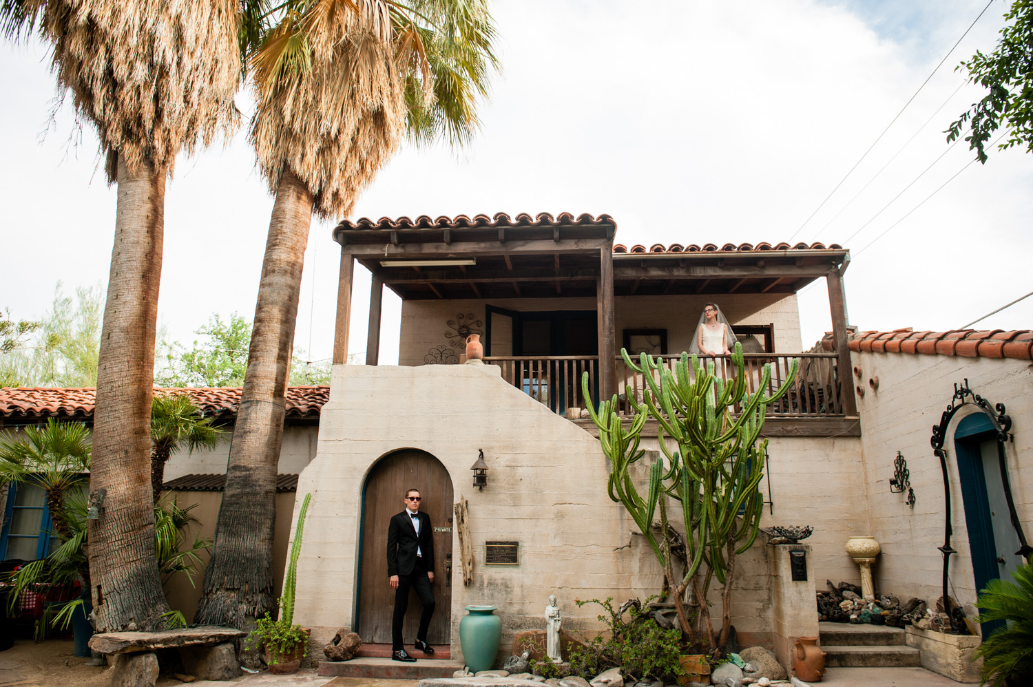 Emily and Robert – Intimate Palm Springs Wedding