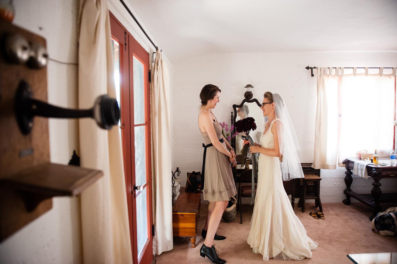 intimate Palm Springs wedding