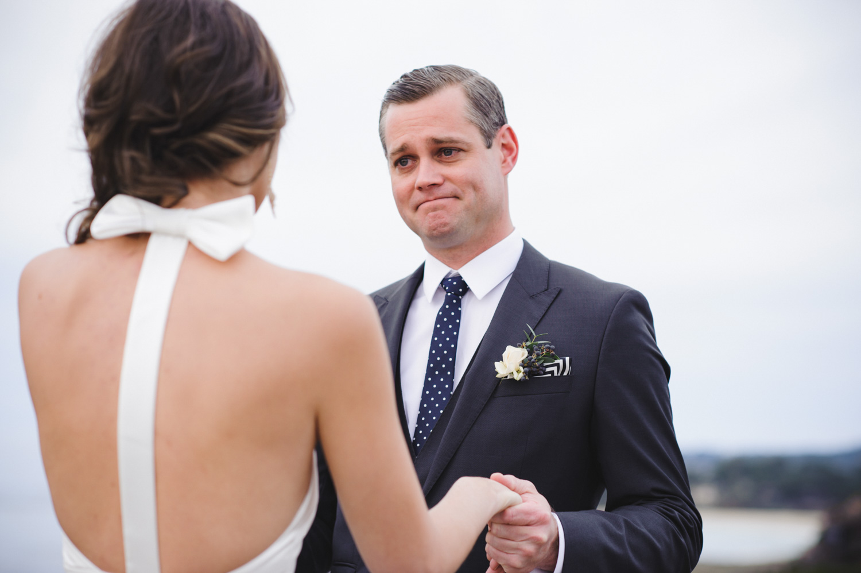 small wedding big sur
