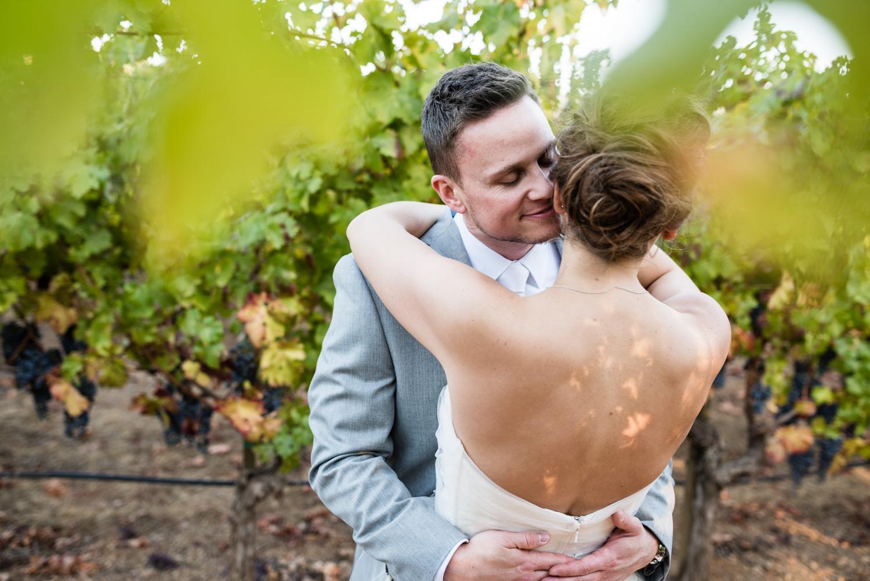 sonoma wine country elopement