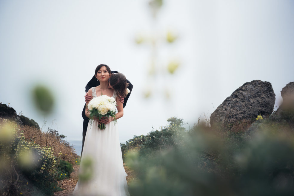 Sandy and Scott – Intimate wedding at Sea Ranch Lodge