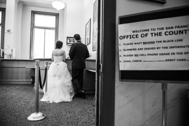 San Francisco city hall registration