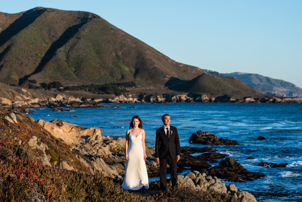 Jessica and Alex – Big Sur Cliff Elopement