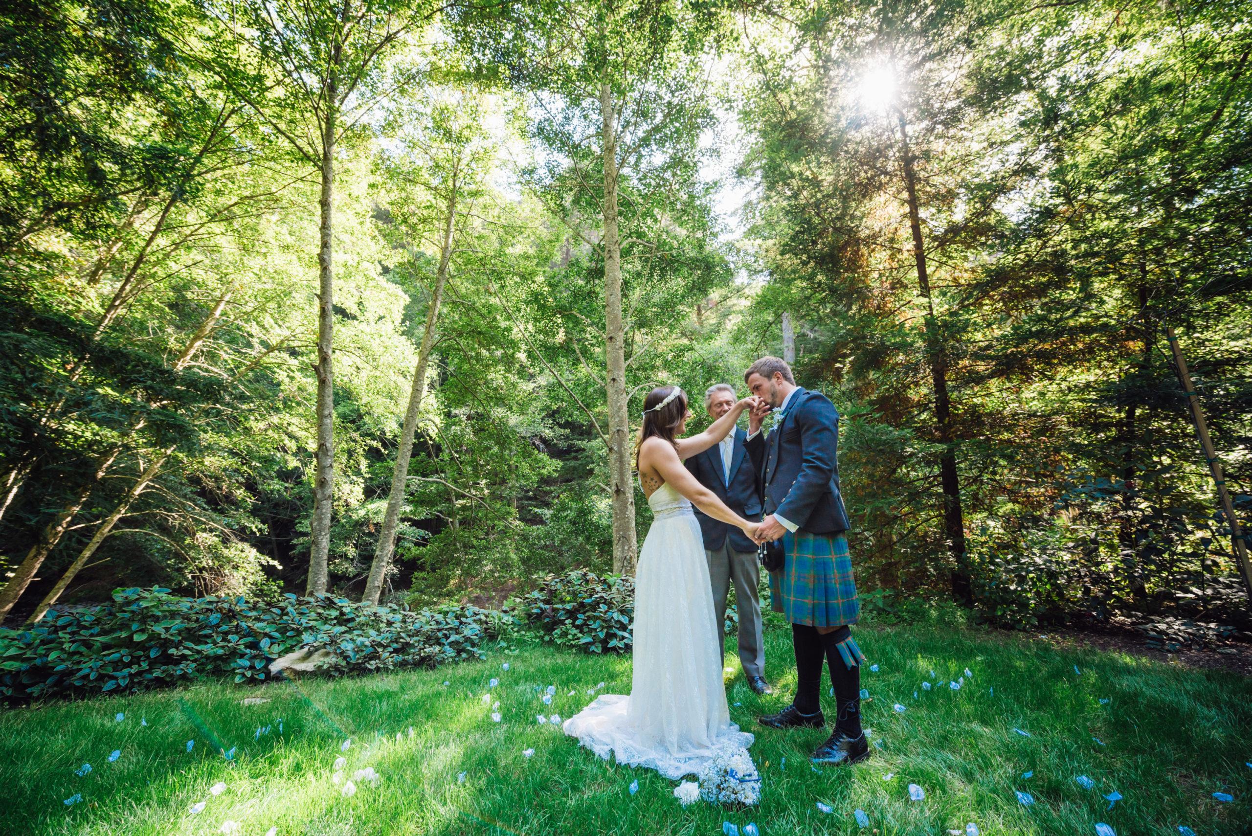 micro wedding Lake Tahoe